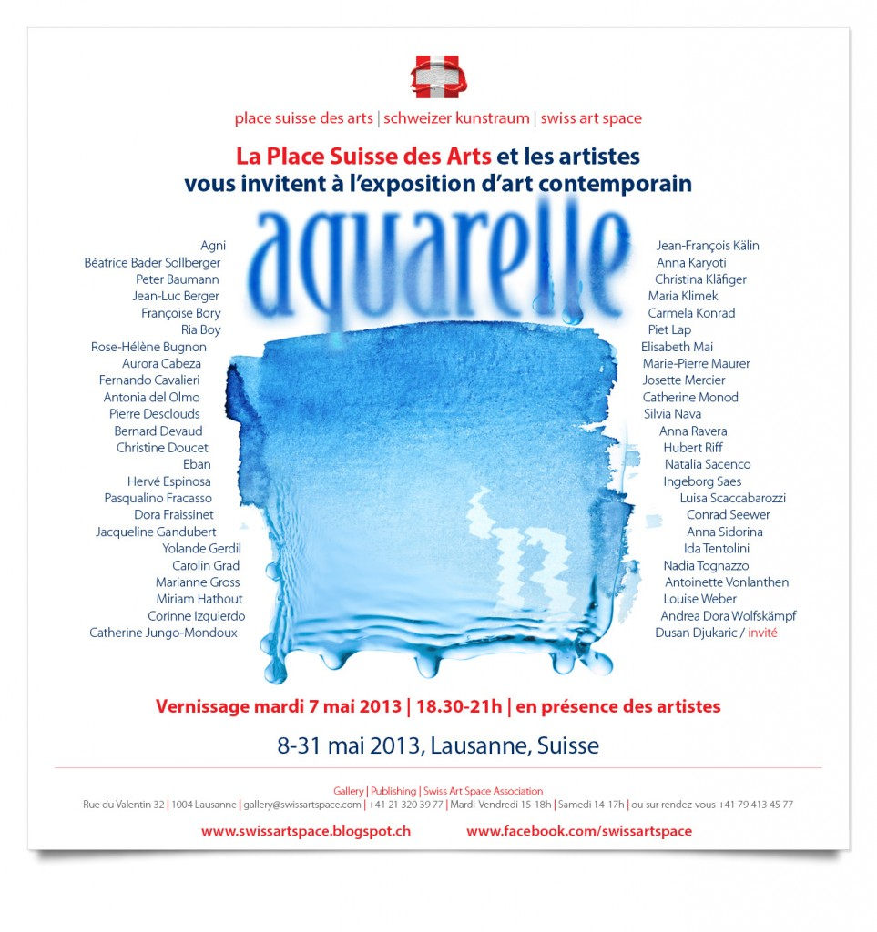 Aquarelle'13 Invitation