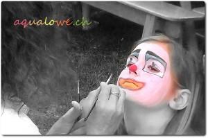 Petite frimousse de clown